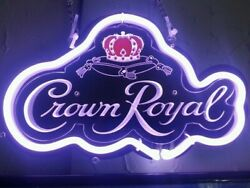 New Crown Royal 3d Carved Neon Light Sign 14 Beer Cave Gift Lamp Bar Game Room