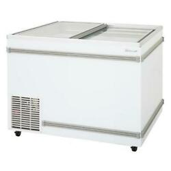 Turbo Air Tfs-11f-n 13.77 Cu. Ft Flat Top Chest Style Top Open Island Freezer