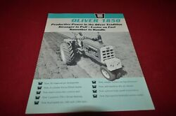 Oliver Tractor 1850 Tractor From 1964 Dealerand039s Brochure Amil15 Ver2