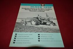 Oliver Tractor 1850 Tractor From 1965 Dealerand039s Brochure Amil15 Ver2