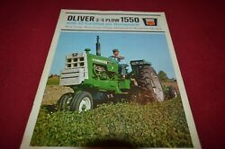 Oliver 1550 Tractor From 1967 Dealerand039s Brochure Amil15