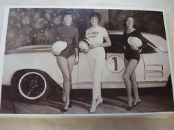1963 Buick Riviera With Buick Motor Sport Girls 11 X 17 Photo Picture