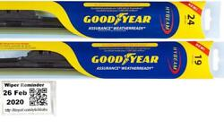 Goodyear Assurance Weatherready Wiper Blades 2 Front Blades Fits 95-03 Acura Tl