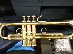 Rare Vincent Bach Lt190l1b Commercial Trumpet With Hard Case Shipped From Japan