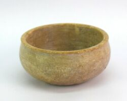 Vintage Stone Bowl – Old Collectible Indian Herb Paste Bowl Decorative G38-50 Us