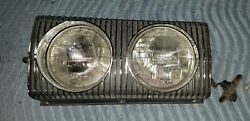 1967 Dodge Charger Front Grille Right Passenger Hidden Headlight Amazing Chrome