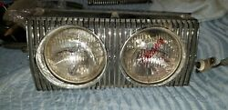 1967 Dodge Charger Front Grille Left Driver Hidden Headlight Amazing Chrome 1966