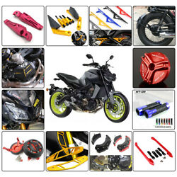 Motorcycle Modification Cnc Accessories Guard Protection For Yamaha Mt09 Fz09