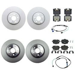 Genuine Front And Rear Brake Kit Disc Rotors Pads Sensors For Bmw G30 530i Xdrive