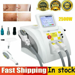 Opt Laser Permanent Tattoo Pigment Removal Hair Remover Skin Whitening Machine