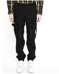 Undercover S/s 19 Cargo Pants Black The Warrior Utility Pockets Size 32