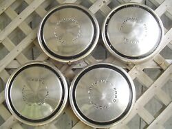 Vintage Ford Pickup Truck Bronco Fomoco Dog Dish Center Cap Hubcaps Wheel Covers