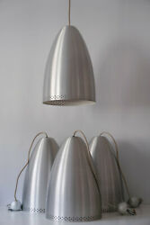 One Of Four Huge Mid Century Modern Pendant Lamps Hanging Lights 1970s Germany