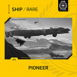 Star Citizen - Consolidated Outland Pioneer - 10 Years Insurance - Rare
