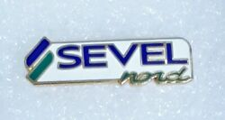 Logo Of Sevel An Italian Company Which Produces Light Commercial Vehicles Pin