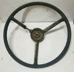 Original Late 1950and039s Ford Banjo Styled Steering Wheel