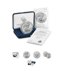2019 S American Eagle One Ounce Silver Enhanced Reverse Unopened Box
