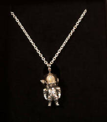 Beret Production Ludens Argent Collier Accessoire Tokyo Game Show 2019 F/s Neuf