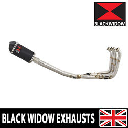 Bmw S1000rr 2017-2018 Performance De Cat Exhaust System + Oval Silencer Bc20v