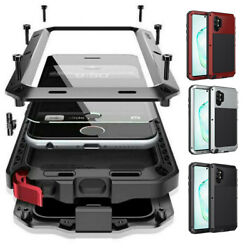 For Samsung Galaxy S21 Note20 S20 10 9 Metal Shockproof Aluminum Heavy Duty Case