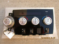 07 - 13 TOYOTA TUNDRA LIMITED A/C HEATER CLIMATE TEMPERATURE CONTROL 84010-0C890