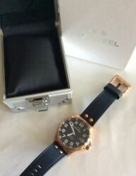 X4large Face Wrist Watch Sapphire Ceo Limited Edition 234/500 Tw Steel W/box
