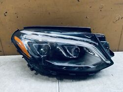 2016-2018 MERCEDES BENZ GLE-CLASS RIGHT SIDE HEADLIGHT XENON LED OEM