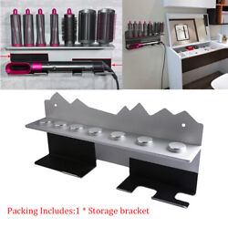 Hair Curls Wand Wall Mount Storage Stand Bracket For Dyson Airwrap Styling Tool