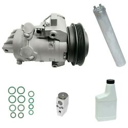 Ryc Reman Complete Ac Compressor Kit Dh65 Afg313 Fits Mustang 3.7l 15-17