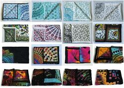 20 Pcs Wholesale Lots Indian Baby Quilt Print Handmade Cotton Kantha Bed Covers