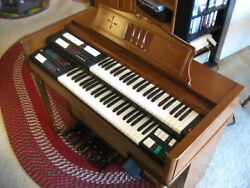 1968 Lowrey TBO-1 Berkshire Deluxe RARE Vintage Organ Pete Townsend The Who