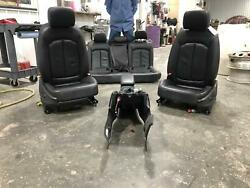 2015-2017 Audi A3 S3 Black Leather Interior Front Seats Rear Seat Console Heated