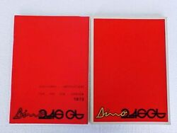 Ferrari Dino 246 Owners Manual Use Maintenance Book_additional Instructions Book