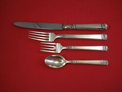 Bysantium By Vera Wang Sterling Silver Dinner Size Place Settings 4-piece