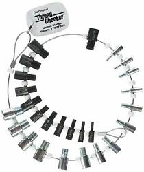 Thread Checker Swtc-26 Nut And Bolt Inch And Metric 26 Male/female Gauges 7877882