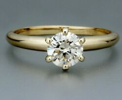 1.03 Ct Certified Vs1/i Natural Diamond Solitaire Engagement Ring 14k