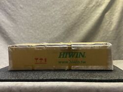 Two Hiwin Rgw30hc Bearing Blocks With Linear Guide Rails