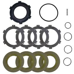 Kubota M8540, M9540 Ipto Clutch Pack Friction Disc And Separator Plate Kit
