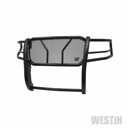 Westin Hdx Grille And Brush Guard Black For Nissan Titan Xd 16-19 Std/ext/crew Cab