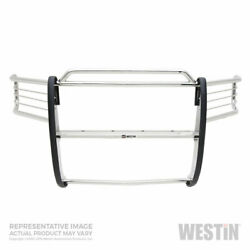 Westin Sportsman Grille And Brush Guard Ss For Gmc Sierra 1500 2007-2013 Sc/ec/cc