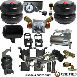 B Chassistech Tow Kit Ford F250 F350 1999-2004 100compressor Manual Valve Horn