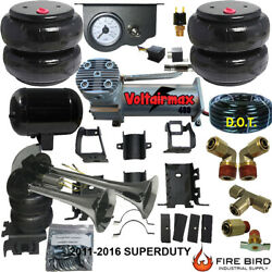 B Chassistech Tow Kit Ford F250 F350 2011-2016 100compressor Manual Valve Horn