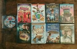 Lot 9 DVD#x27;s Family Kids Hop Annie Golden Compass Hugo amp; More Free Shipping