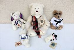 Lot Boyds Bears Plush Toy Teddy Collectible Some Larger White Mixed Lot If