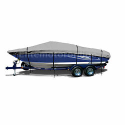 Regal 2900 Lsr Bow Rider Traileralbe All Weather Boat Cover Grey