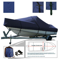 Charger 2350 Cc Cuddy Cabin I/o Trailerable Boat Cover Navy