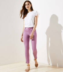 Loft Womenand039s Skinny Sateen Lilac Ankle Pants Sizes 10 Reg And 0p 4p And 6p 69.50