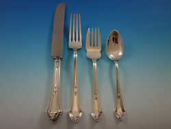Lenox By Durgin Sterling Silver Flatware Set For 12 Service 52 Pieces