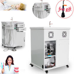 Dental Delivery System Cart Unit Curing Light/scaler/triplex/syring Machine+gift