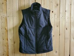 Port Authority J709 Mens 2xl Black Puffy Vest Fostera Logo New With Tags